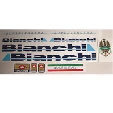 Bianchi Superleggera decal set for vintage Campagnolo