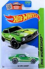 2015 Hot Wheels - HW Workshop - '68 Copo Camaro - Green - #211/250