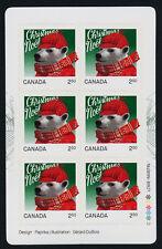 Canada 2883a Booklet MNH Christmas, Polar Bear