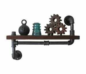 Pipe Fitting Shelf | Industrial Pipe Style