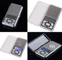 200g/0.01 & 500g/0.1 Portable Mini Digital Pocket Scale Balance Weight Jewelry G