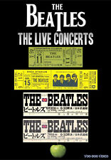 The Beatles - The Live Concerts DVD - 4 Complete Shows Washington - Shea - Japan