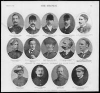 1900 Antique Print Portraits - Imperial Yeomanry Marks Ricardo Harrison   (39)