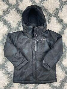 Columbia Sportswear Company Kids Uni-sex Omni-Heat Waterproof Winter Jacket Sz S