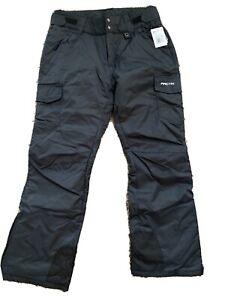 NWT Arctix 1830-00-L Women's Snowsport Cargo Pants, Large, Black (12-14)