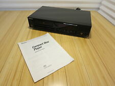 Sony CDP-208ESD CD Compact Disc Player Deck With Manual, See Description