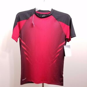 Russell Athletic Mens Red Short Sleeve Fitted Base Layer Top Size Sm CH (34-36)