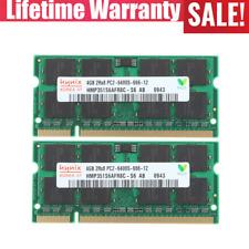 Hynix 8GB 2x 4GB PC2-6400S DDR2-800 MHz 200pin RAM SO-DIMM Laptop Memory qy