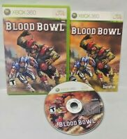 Blood Bowl Football Game - Microsoft Xbox 360 Rare Tested Works 1-2 players