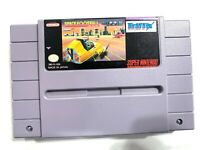 Space Football - SNES Super Nintendo Game Cartridge - Authentic & Tested