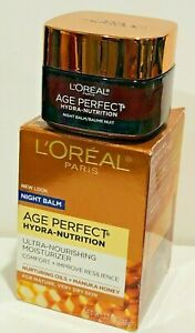 LOREAL  AGE PERFECT HYDRA-NUTRITION NOURISHING MOISTURIZER FOR MATURE  DRY SKIN