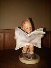 "M. I. Hummel - ""Latest News"" - Goebel figurine - #184 - Trade Mark 5"