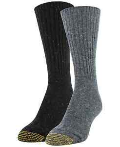 Gold Toe Women's Recycled Crew 2pk Boot Socks