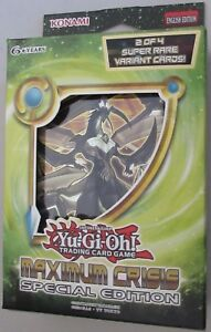 Yu-Gi-Oh! Máximo Crisis Edición Especial Inglés Konami Shonen Saltar Aumentador