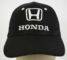 Honda Embroidered Black Baseball Hat Cap and Adjustable Strap