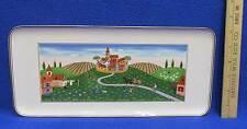 Villeroy & Boch Sandwich Plate Tray Platter Naif Village Community Design