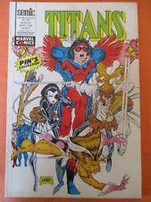 TITANS N)° 158 mars 1992  Excalibur Avengers Captain américa