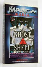 GHOST IN THE SHELL VHS Manga Video Mania PAL Anime OAV Masamune Shirow