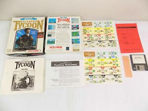 PC Big Box Sid Meier's Railroad Tycoon - Complete - Free Post