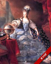 QUEEN MARIE ANTOINETTE WIFE KING LOIUS XVI FRANCE PAINTING REAL CANVASART PRINT