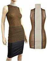 MARNI Sleeveless Colorblock Mohair Wool Nylon Turtleneck Top 40 US 4 NEW