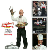 "NECA Chef Freddy A Nightmare On Elm Street 5 Clothed 8"" Action Figure IN STOCK"