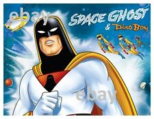 SPACE GHOST & DINO BOY Pin Up PRINT Hanna Barbera Jan Jace Blip