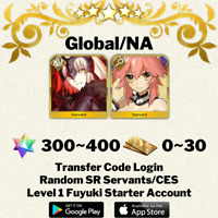 [English/Global/NA] Jeanne (Alter) Tamamo-no-mae Fate/Grand Order FGO Account