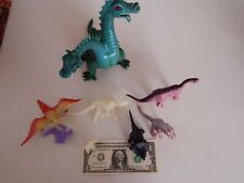 Vintage Imperial Dragon and other Dinosaurs Lot