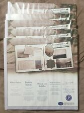Creative Memories 12 x 12 White Pocket Pages NEW with write-in space – NIP
