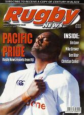 Nz Rugby News 34-20, 9 Jul 2003 Jim Love, Mike Brewer, Ben Blair, Christian Cull