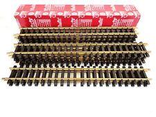 **NEW** LGB 10600 Caja 12 vías rectas nuevas 60cm tracks (box of 12) G scale