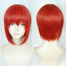 Mahoutsukai no Yome Hatori Chise Short Orange Red Cosplay Hair Synthet Wig
