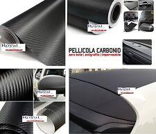 PELLICOLA IN CARBONIO 3D ROTOLO 75 X 200 CM ADESIVO AUTO CAR WRAPPING