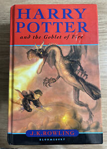 Harry Potter and the Goblet of Fire, First Australian Edition, Hardcover, 2000