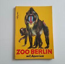 Wegweiser durch den zoologischen Garten Berlin und sein Aquarium 1986
