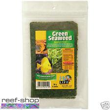 V2O Natural Green Seaweed 16g Fish Food 12 sheets 100% Natural Marine Algae