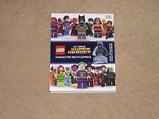 Lego DC Comics Super Heroes Character Encyclopedia - Hardcover NEW Simon Hugo (A