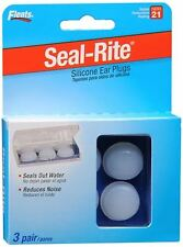 Flents Seal-Rite Silicone Ear Plugs, 3 Pairs (Pack of 5)