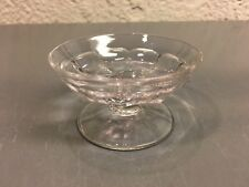 Heisey Glass Colonial #353 Individual Almond Dish Clear Marked