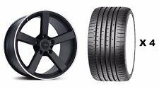 """18"""" Ruedas de Aleación MS003 B + Neumáticos se ajusta Land Rover Freelander Descubrimiento Sport"""