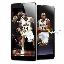 7'' Dual Core Android 4.4 3G WCDMA 8GB 2Sim Cell Phone Unlocked WIFI Phablet