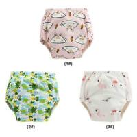 CDD6 Baby Diaper 3 Layers Ecological Cotton Reusable Washable Infants Nappy