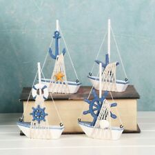 Wooden Sailing Boat Model DIY Kits Ship Assembly Home Decoration Toy Gift