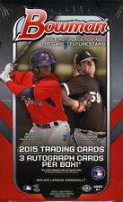 2015 Bowman Baseball Factory Sealed Jumbo Box