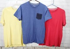 Banana Republic Old Navy T-Shirt Short Sleeve Mens L Tops 100% Cotton Lot of 3