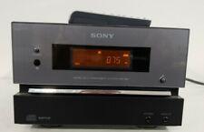 SONY Micro Hi-Fi Component CMT-BX1 CD Player AM/FM Tuner Radio Audio In w/remote