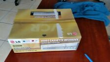 LG GC990W, 2-speed (SP, LP) Stereo Hi-Fi VCR + remote Brand new in box UNUSED