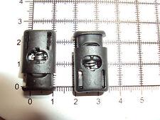 """2 PC Lock fine disegnare String Cord CORDINO TAPPO Zaino Giacca Paracord """"B-33"""""""