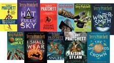 Terry Pratchett Hit Fantasy Series DISCWORLD Mixed PAPERBACK Set of Books 31-41